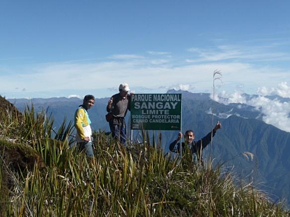 The high alpine paramo boundary between our Cerro Candelaria Reserve and Sangay National Park. Photo: Recalde brothers/EcoMinga.